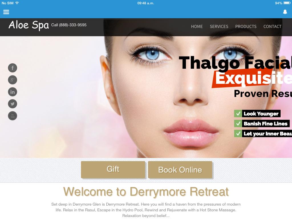 Personalised Web Site