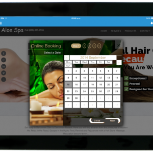 Online Booking Salon Software