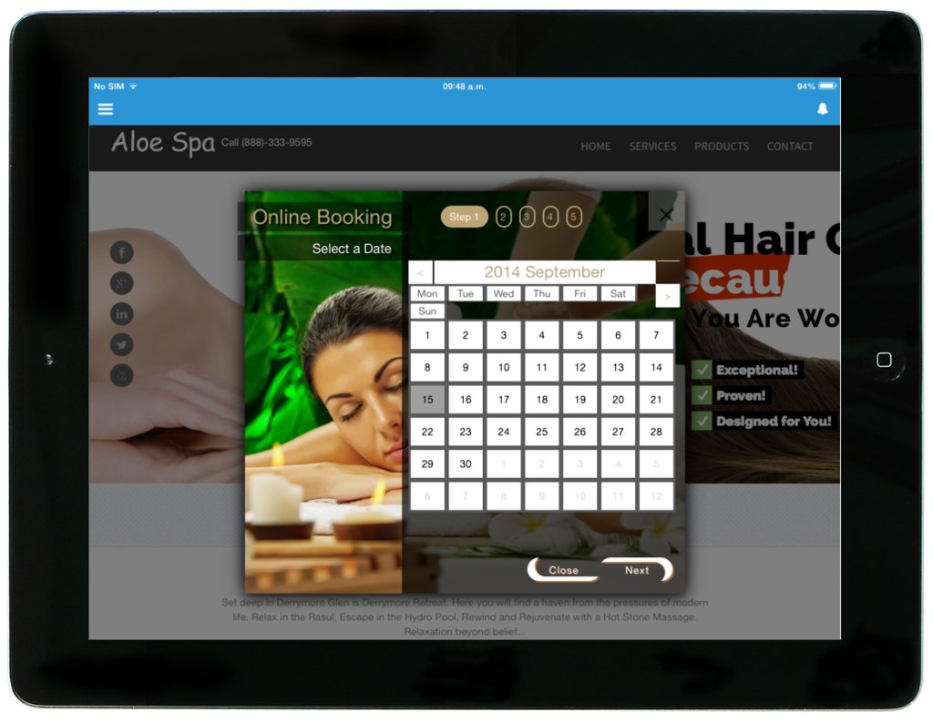 salon reservation software